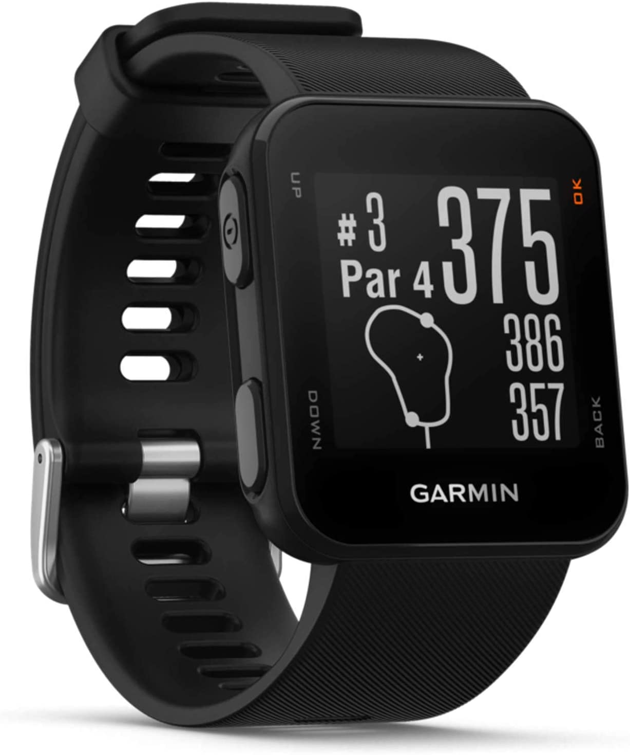 Garmin Approach S10 Black GPS Golfuhr -