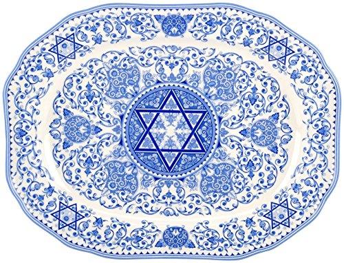 Spode Judaica Oval Platter - 14