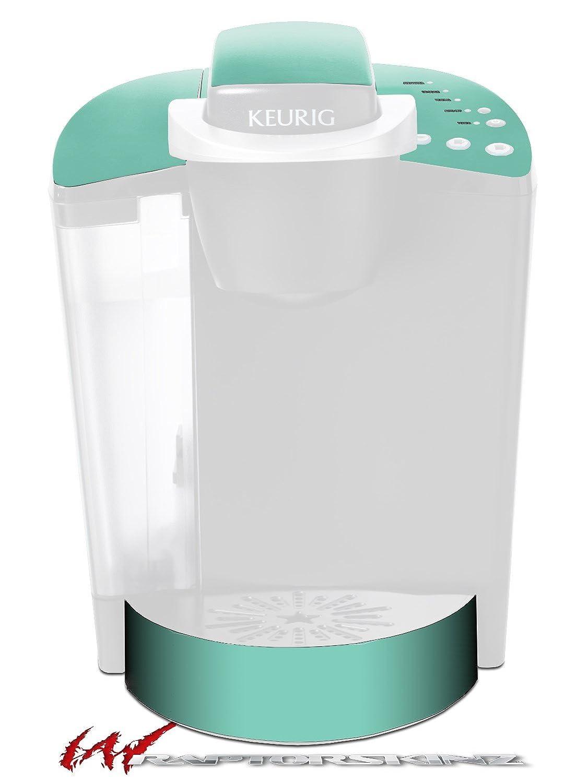 ソリッドコレクションシーフォームグリーン – デカールスタイルビニールスキンFits Keurig k40 Eliteコーヒーメーカー( Keurig Not Included )   B017AK4922