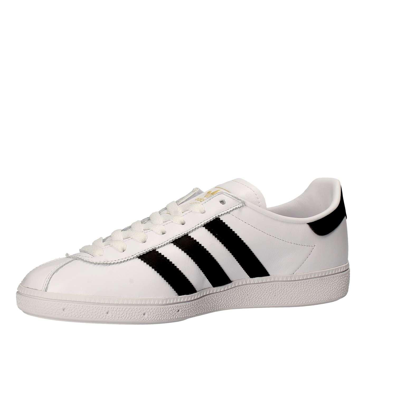 adidas Munchen 725, Baskets Mixte Adulte, Ecru (FTWR White/FTWR White By1725), 44 EU