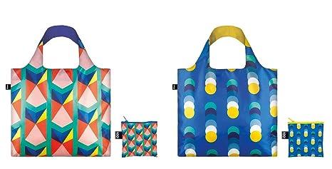 b8543f79e9e9 Amazon.com  Loqi Bags Reusable Shopping Bags