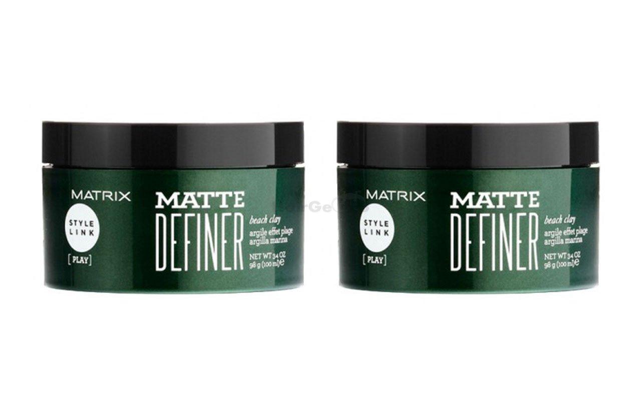 Matrix Style Link Matte definer Beach Clay 2x 100ml = 200ml