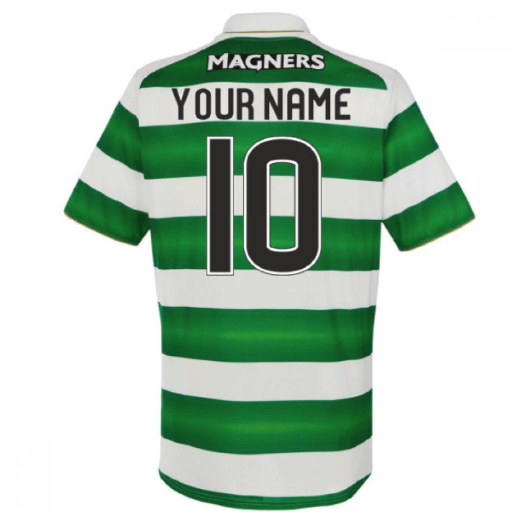 2016 – 17セルティックホームシャツ( Your Name ) B0786HDNP6ホワイト Small 35-37\