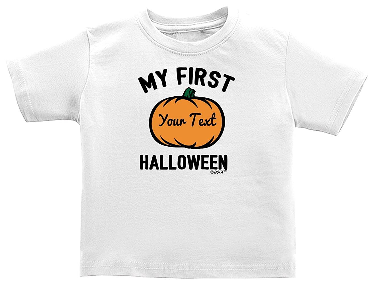 Baby Gifts For All Personalized Baby Name First Halloween Infant T-Shirt