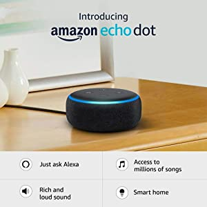 Echo Dot (3rd Gen) – New and improved smart speaker...