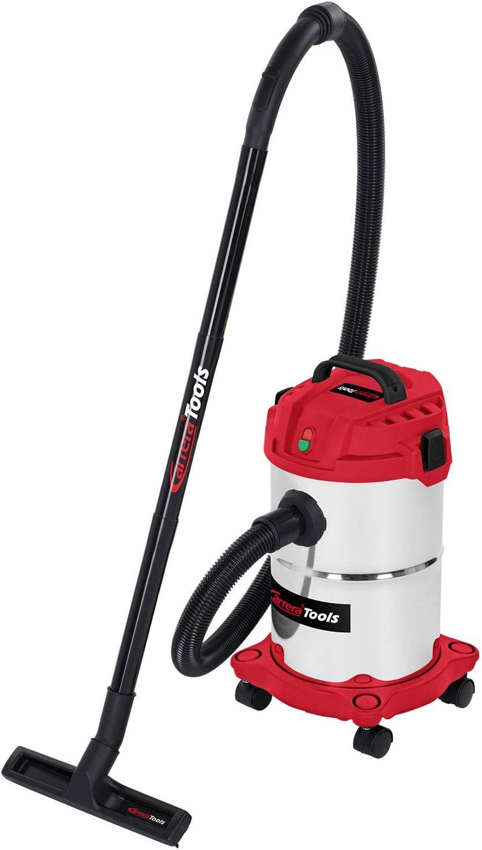 Carrera Tools NT 1000 15 Liter Edelstahl Nass- und Trockensauger 1000 Watt