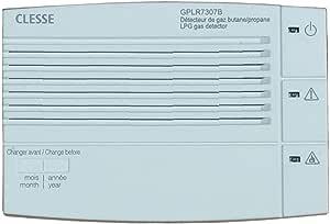 جهاز كشف الغاز من كليسي مع ازرار وتسرب 8 أمبير وتسرب الغاز LPG GPLR 7307B