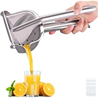 Real Stainless Steel Lemon Squeezer Citrus Juicer Hand Press Heavy Duty Manual Squeeze Juice Extractor Maker Orange Lime…