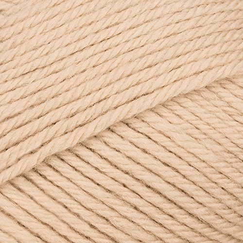 Patons Beige Knitting Yarn (Patons Baby Smiles Fairytale Merino Mix DK 1005 Beige)