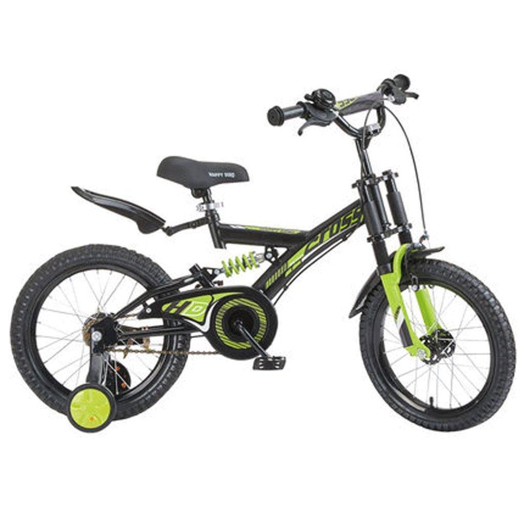 自転車 子供の自転車の男の子3-6歳の赤ちゃんのキャリッジ14インチ16インチ18インチの自転車ダブルショックアブソーバ (サイズ さいず : 18inch) B07DPNNSRP 18inch 18inch