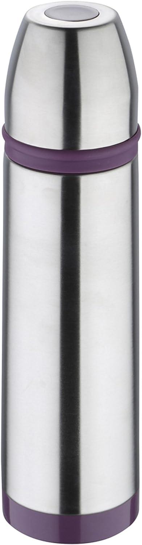 Bergner Sporty 7 cm Termo, Acero Inoxidable, Morado, 500 ml