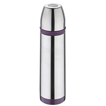 Bergner Sporty 7 cm Termo, Acero Inoxidable, Morado, 500 ml ...