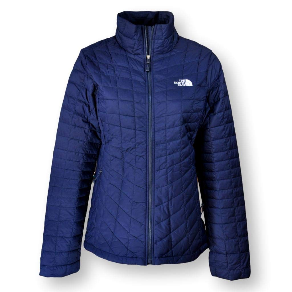The North Face Women/'s Thermoball Zip-in Jacket blue X-Small