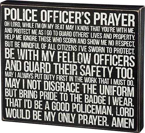 Primitives Kathy Police Officers Prayer product image
