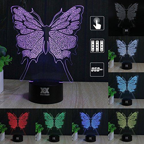 Led 3D Butterfly Night Lights - 5