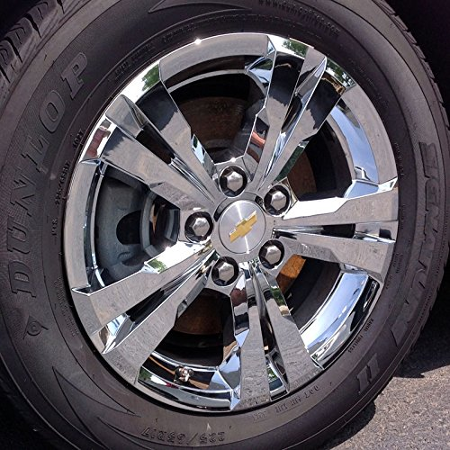 2012-2014 Chevrolet Equinox Chrome Wheel Skins 17