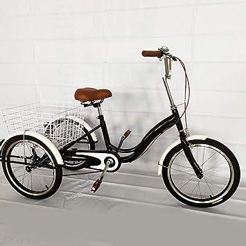 "Licht Korb Dreirad Tricycle Shopping Bike DE 24/"" Erwachsenendreirad Senioren"