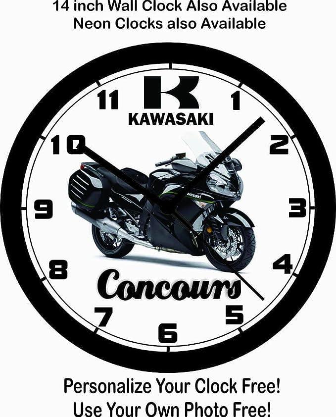 Amazon Com 2016 Kawasaki Concours Motorcycle Wall Clock Free Usa