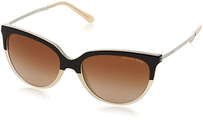 Michael Kors Damen Sonnenbrille Sue 328313, Brown/Milky Beige/Browngradient, 55