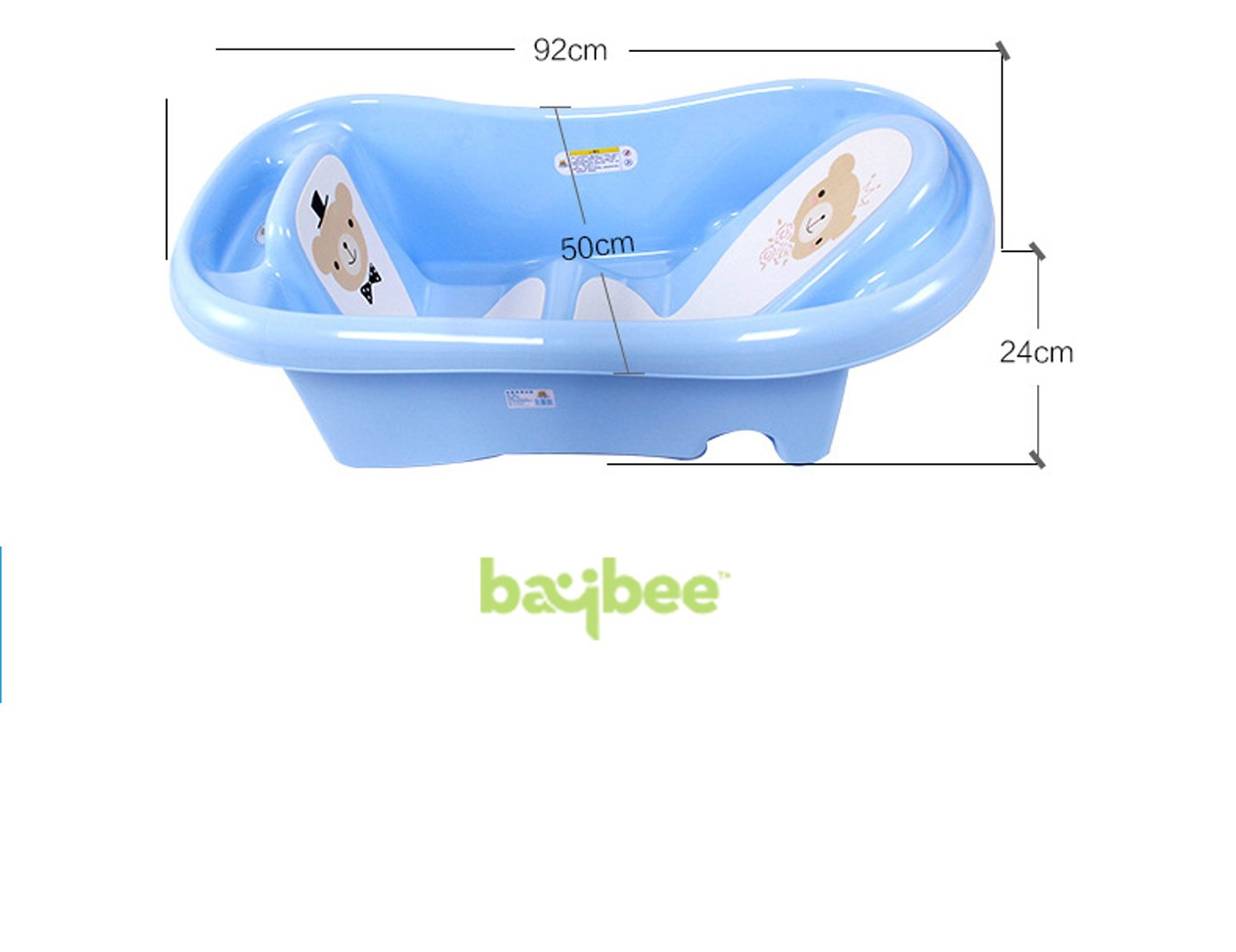 Buy Baybee Amdia Multistage Bath tub Newborn to 18 month - ( Blue ...