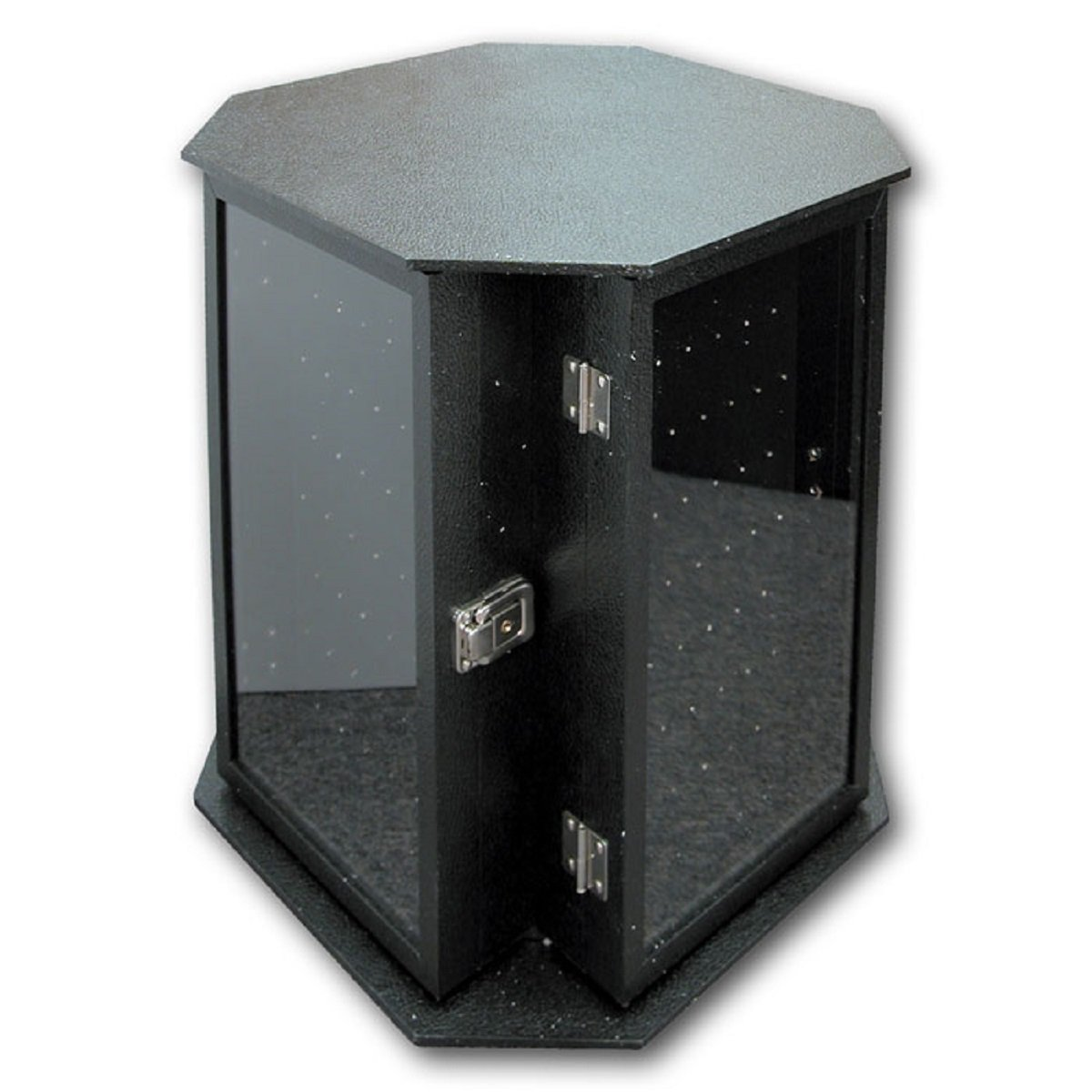 4-sided Rotating Body Jewelry Display Case