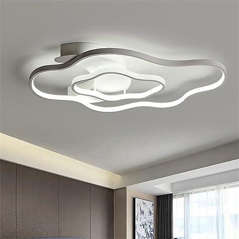 BMEI Lámpara de techo moderna de acrílico LED luz de techo ...