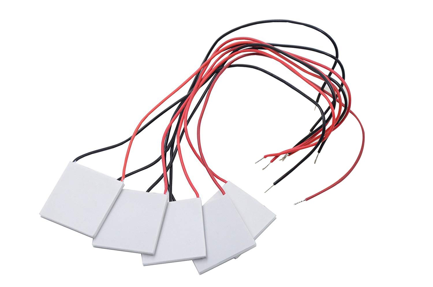 5PCS SP1848-27145 Heatsink Thermoelectric Cooler Cooling Peltier Plate Module 150℃ by Walfront (Image #1)