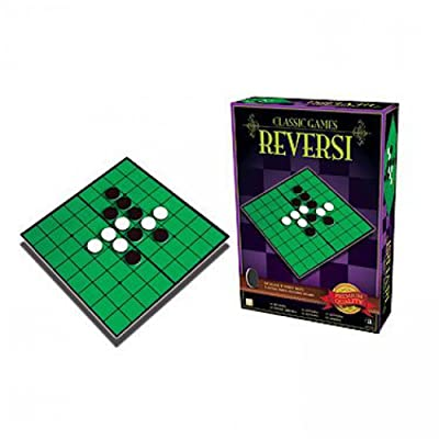 Classic Board Game Reversi: Toys & Games