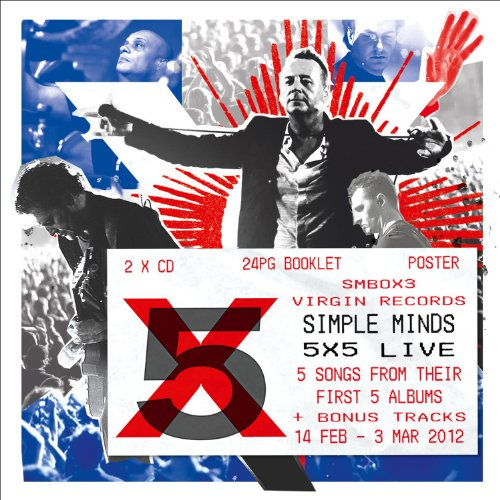 Simple Minds: 5x5 Live (Limited Edition inkl. Tour-Poster) (Audio CD)