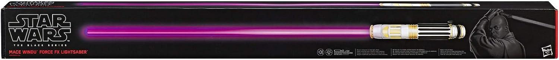 HASBRO STAR WARS BLACK SERIES MACE WINDU ELECTRONIC LIGHTSABER FORCE F//X MISB