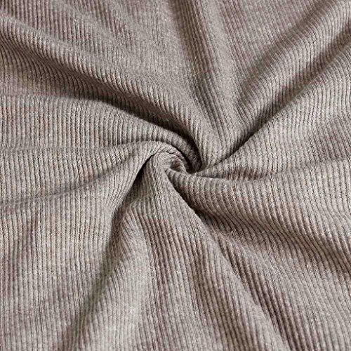 GOTD 2016 Spring Sexy Women Zip V Neck Long Sleeve Bodycon Party Dresses (L, Gray) by GOTD (Image #5)