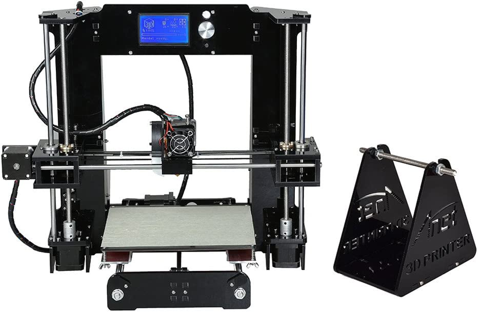 Anet A6 Diy 3D Printer Kit Metal Acrylic Frame Multiple Filaments ...
