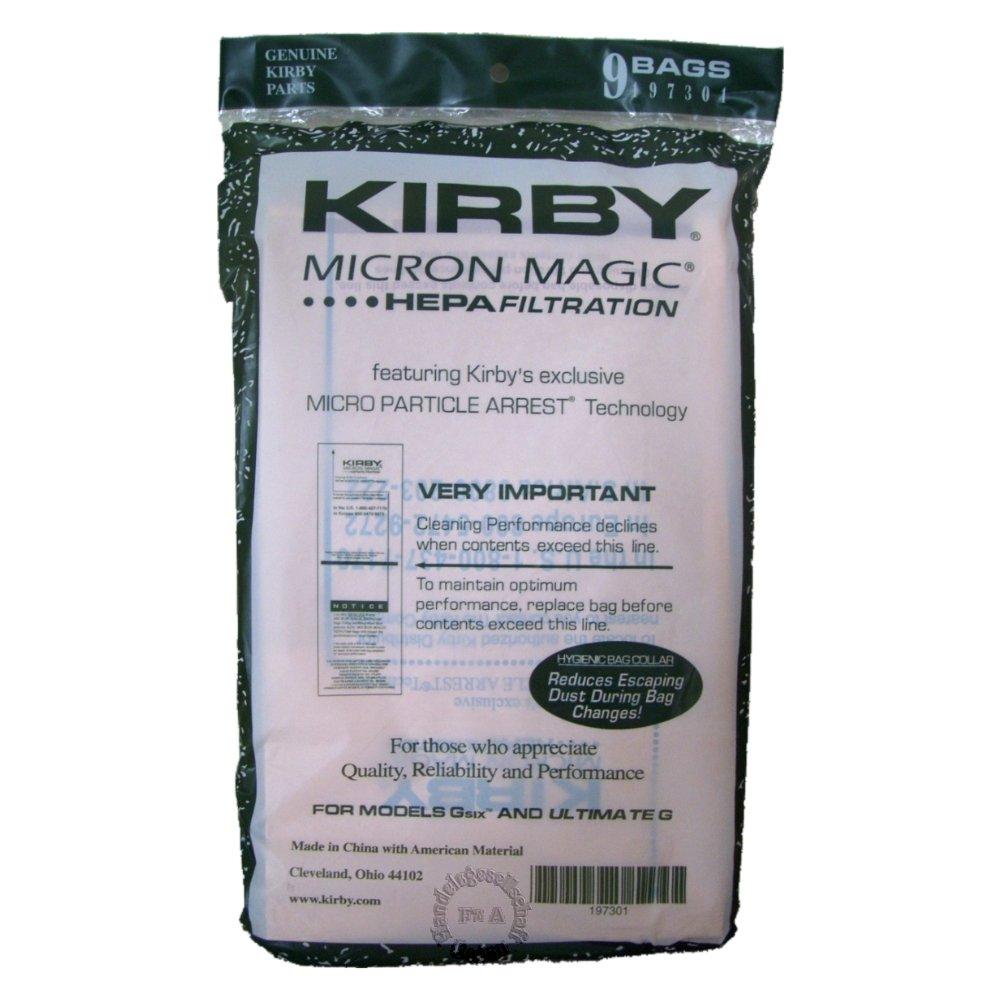 Original Kirby bolsas filtrantes ** Filtro HEPA ** serie Producción G6 / G7 Ultimate