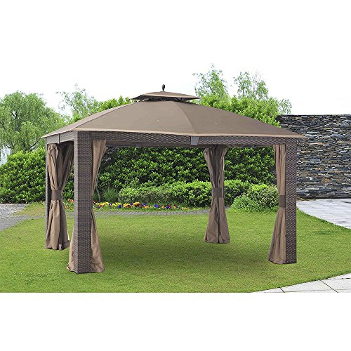 Sunjoy Replacement Curtain for 10 x 12 ft Sonoma Gazebo -  110109107