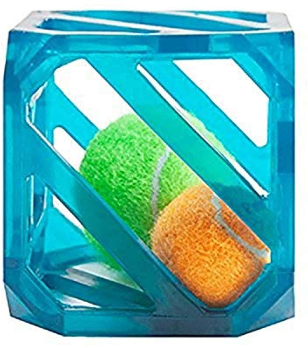 Outward Hound Triple Jack and Puzzle Cube - Interactive Squeaky Dog Toys