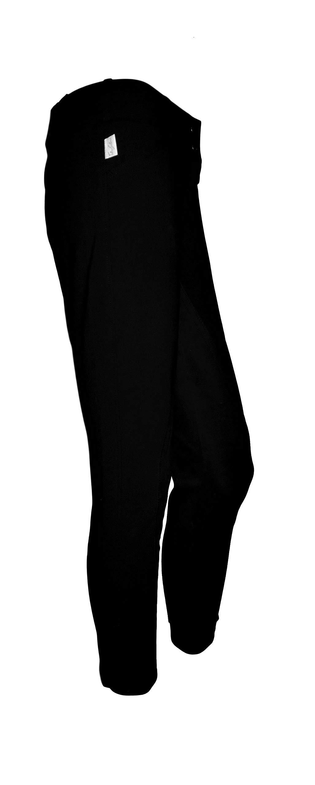Tailored Sportsman Ladies Trophy Hunter Mid Rise Front Zip (Black, 30R)