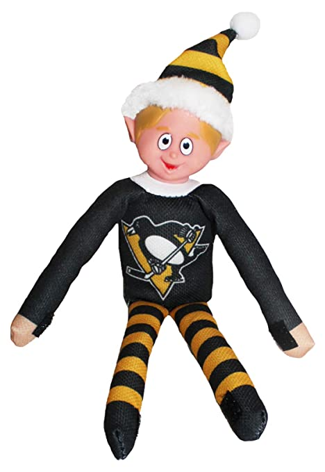 Amazon Com Forever Collectibles Pittsburgh Penguins Nhl Team Elf