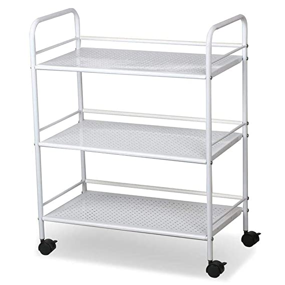 Amazon.com: ASdf Trolley Transport Cart Family, Restaurant, Restaurant, Cafe 3 Storey White Trolley: Garden & Outdoor