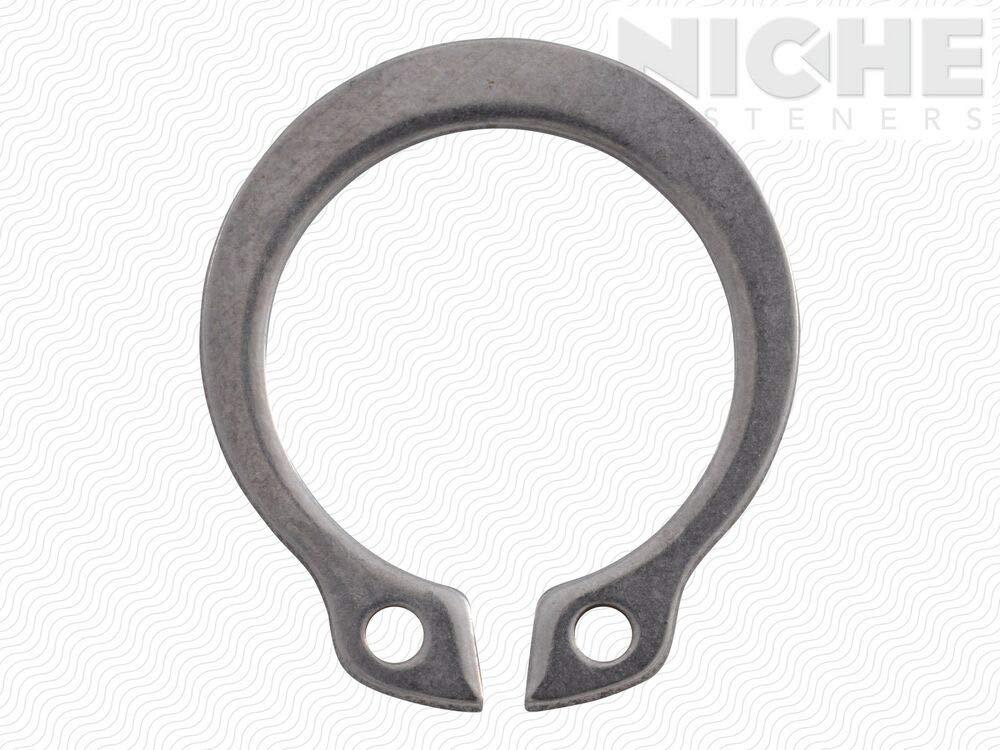 Snap Ring External HD 1//2 SS PL 10 Pieces