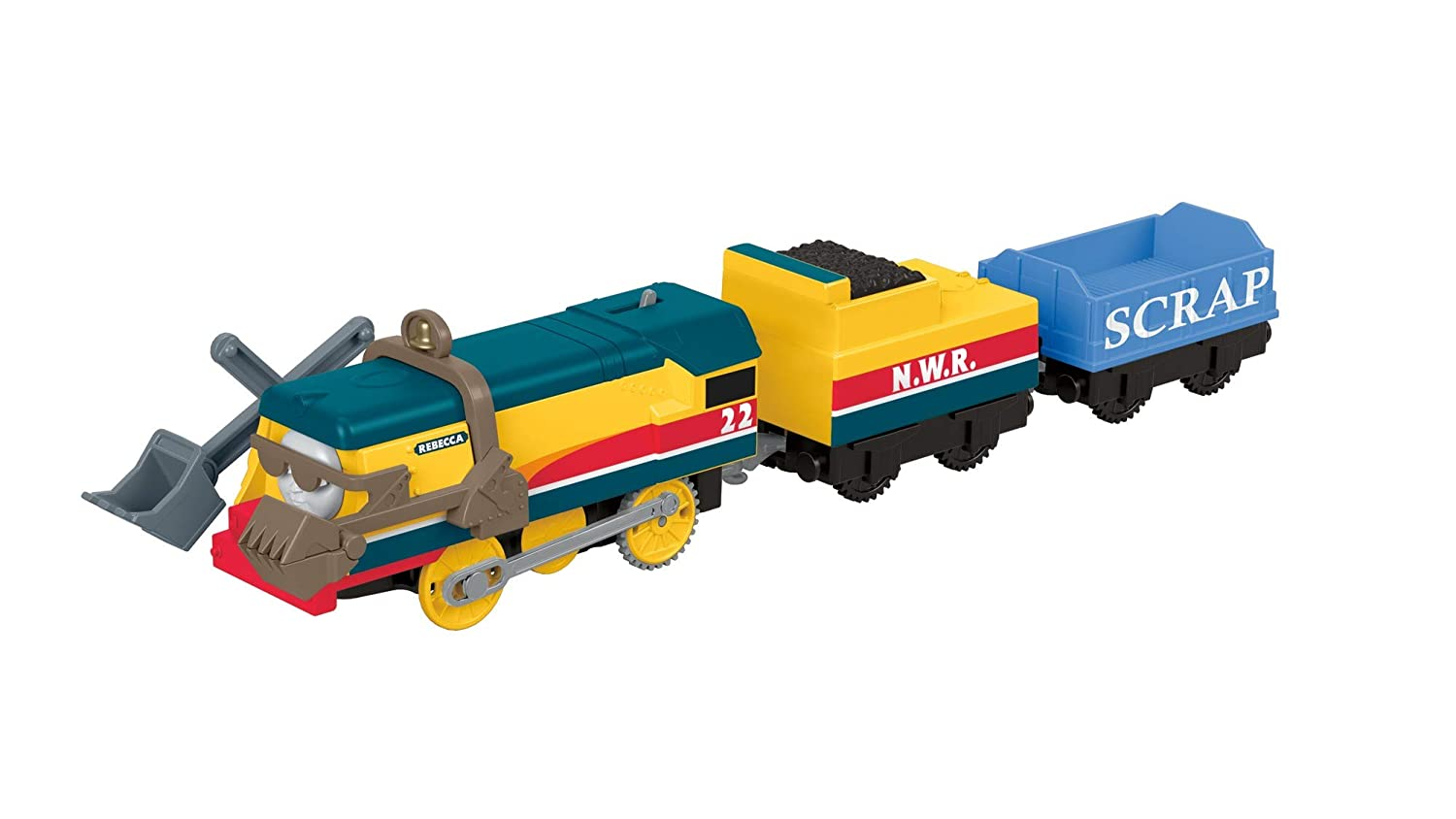 Amazon.com: Thomas & Friends Fisher-Price Trackmaster, Rebecca, Multicolor: Toys & Games
