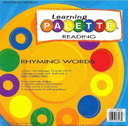 Learning Wrap Ups Kindergarten Reading LP Rhyming Words