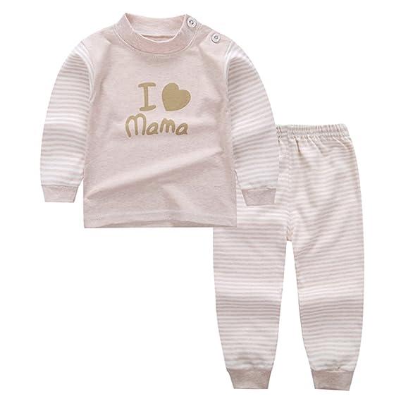 KINDOYO Lindo Impresión Pijamas Set Para Unisexo Niño Minions, Pijama para Niños, 14 Estilo