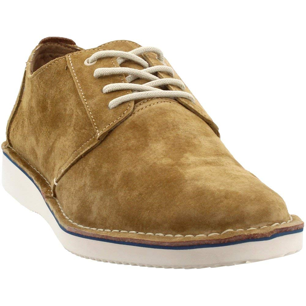 TOMS Men's Preston Brown Pig Suede/Stitch Out 11.5 D US