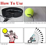 Ueasy Boxing Ball MMA Ball Fighting Ball with 2