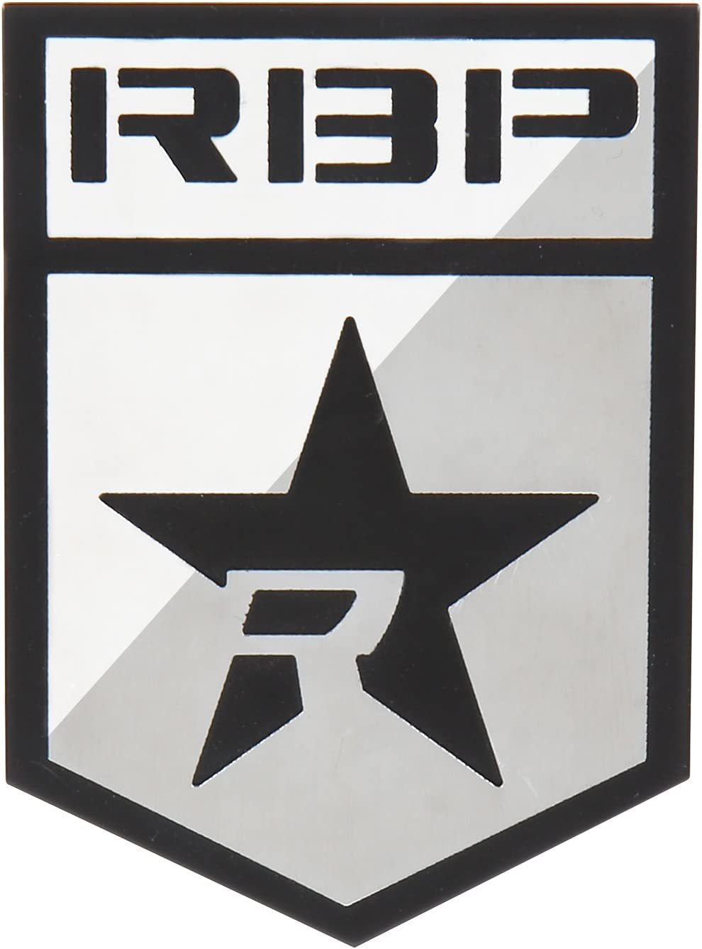 Stainless Steel for 2 Pieces RBP RBP-501SS RBP Badge with Logo and R-Star