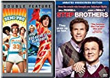 Step Brothers + Semi-Pro & Blades of Glory DVD Will Ferrel Comedy Set 3 Movies