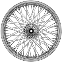 Ride Wright Wheels Inc Omega 80 Spoke 21x3.5 Front Wheel (Dual Disc), Position: Front, Rim Size: 21 04238-45-99-OM-T