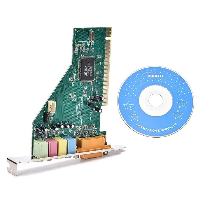 Amazon.com: ShineBear - Tarjeta de sonido para PC con puerto ...