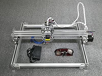 10W DIY Laser Engraver Laser Engraving Machine Engraving size:3040CM Fixed Focus White Color for 201,304, Stainless,Ceramic,Stone,Metal