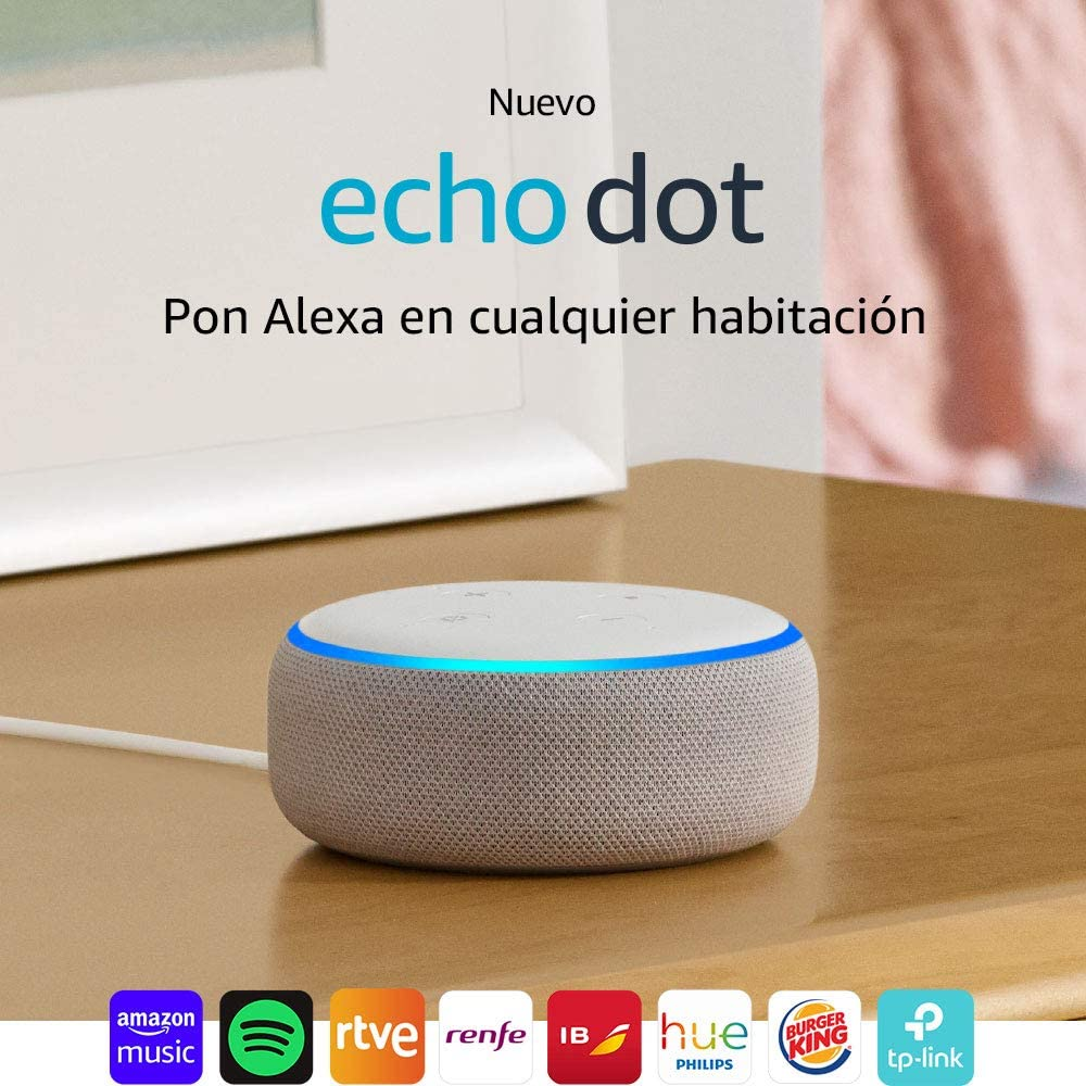 Echo Dot (3.ª generación) Reacondicionado Certificado - Altavoz ...